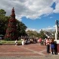 Holidays Around the World at Epcot - Epcot 2012 Christmas Trees - The American Adventure