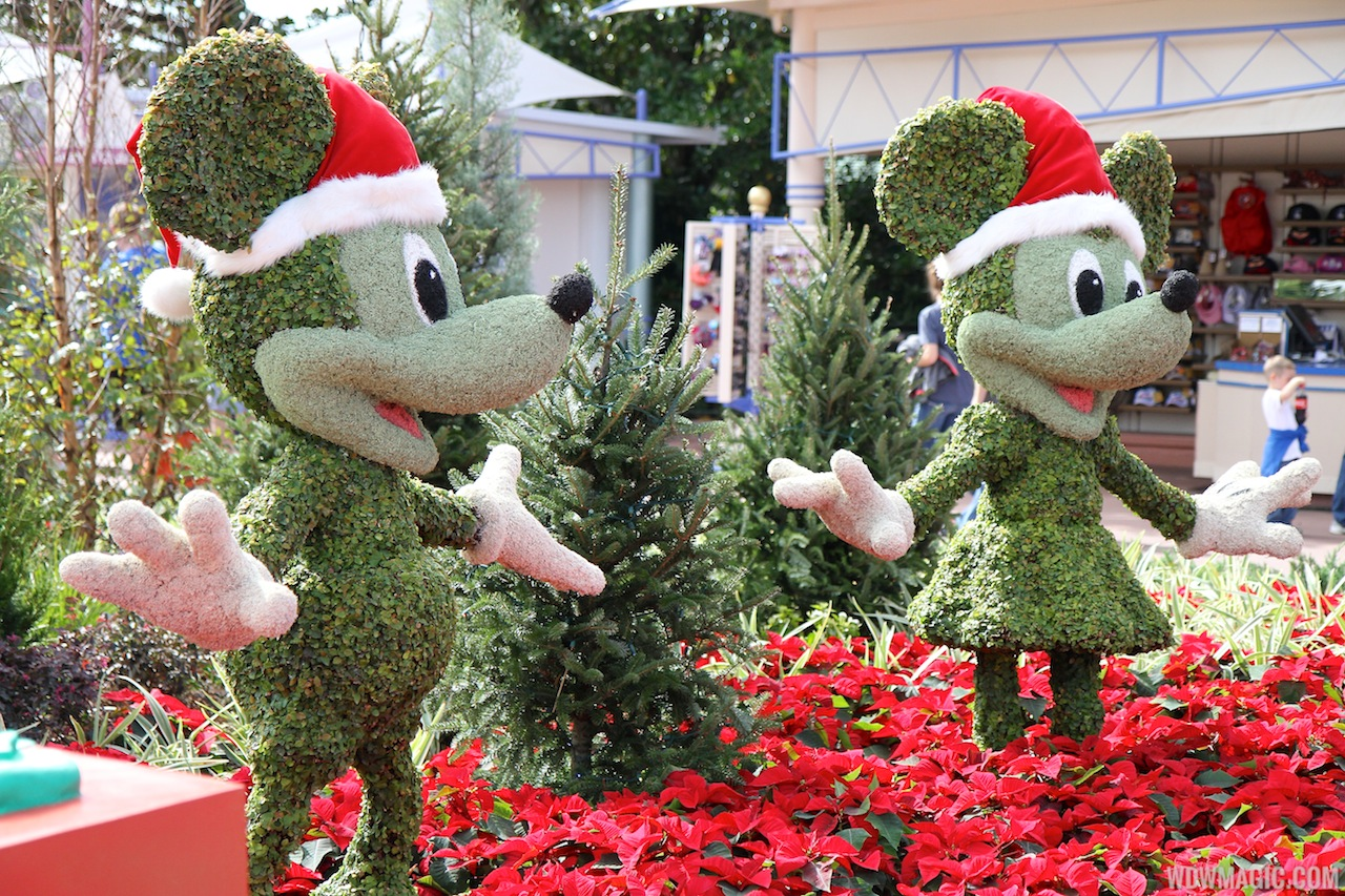 Christmas decoration all around the world -  Around The World At Epcot