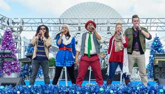 VIDEO - American Music Machine Christmas Special at Epcot's Holidays Around the World