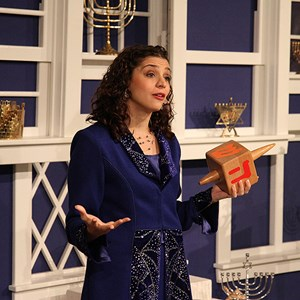 3 of 4: Holidays Around the World at Epcot - Holiday Storytellers - The American Adventure - Hanukkah