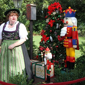 3 of 6: Holidays Around the World at Epcot - Holiday Storytellers - Germany - A Christmas Wish