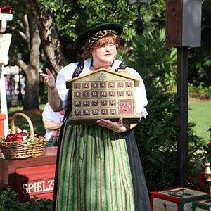 6 of 6: Holidays Around the World at Epcot - Holiday Storytellers - Germany - A Christmas Wish