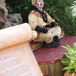3 of 6: Holidays Around the World at Epcot - Holiday Storytellers - China - The Monkey King