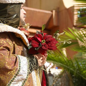 12 of 12: Holidays Around the World at Epcot - Holiday Storytellers - Mexico - Los Tres Reyes Magos
