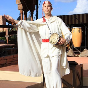 2 of 6: Holidays Around the World at Epcot - Holiday Storytellers - Morocco - Taarji Morocco