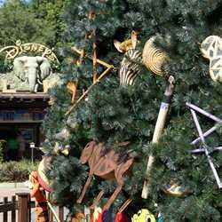 Animal Kingdom Christmas Tree 2009
