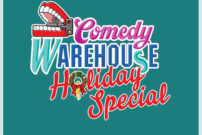 Comedy Warehouse Holiday Special billboard