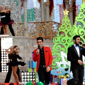 3 of 6: Holidays at the Magic Kingdom - IL VOLO performs at the Disney Parks Christmas Day Parade TV Special 2013 taping