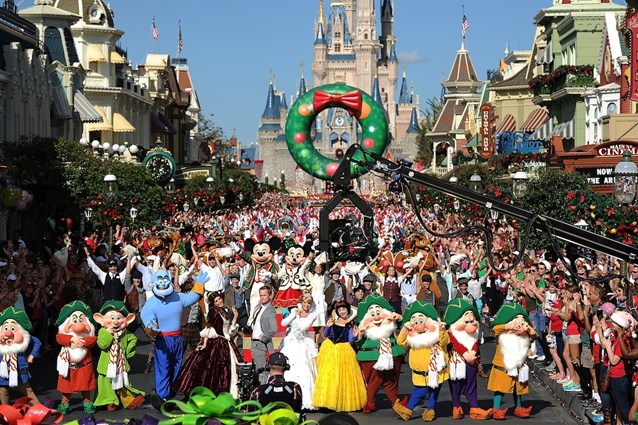 Holidays at the Magic Kingdom - Neil Patrick Harris Performs and Hosts Disney Parks Christmas Day Parade TV Special 2013