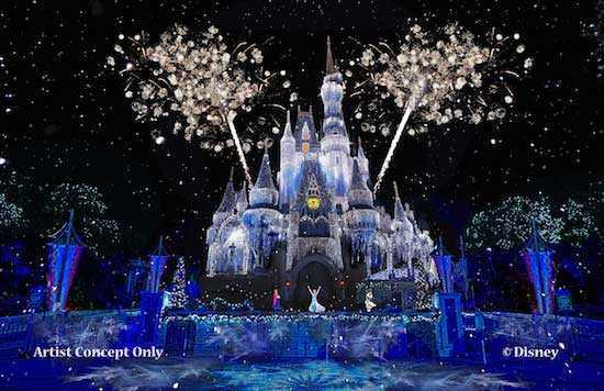 Frozen castle lighting concept art