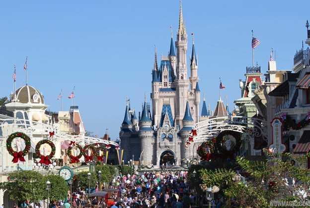 New Magic Kingdom Main Street U.S.A. holiday decor