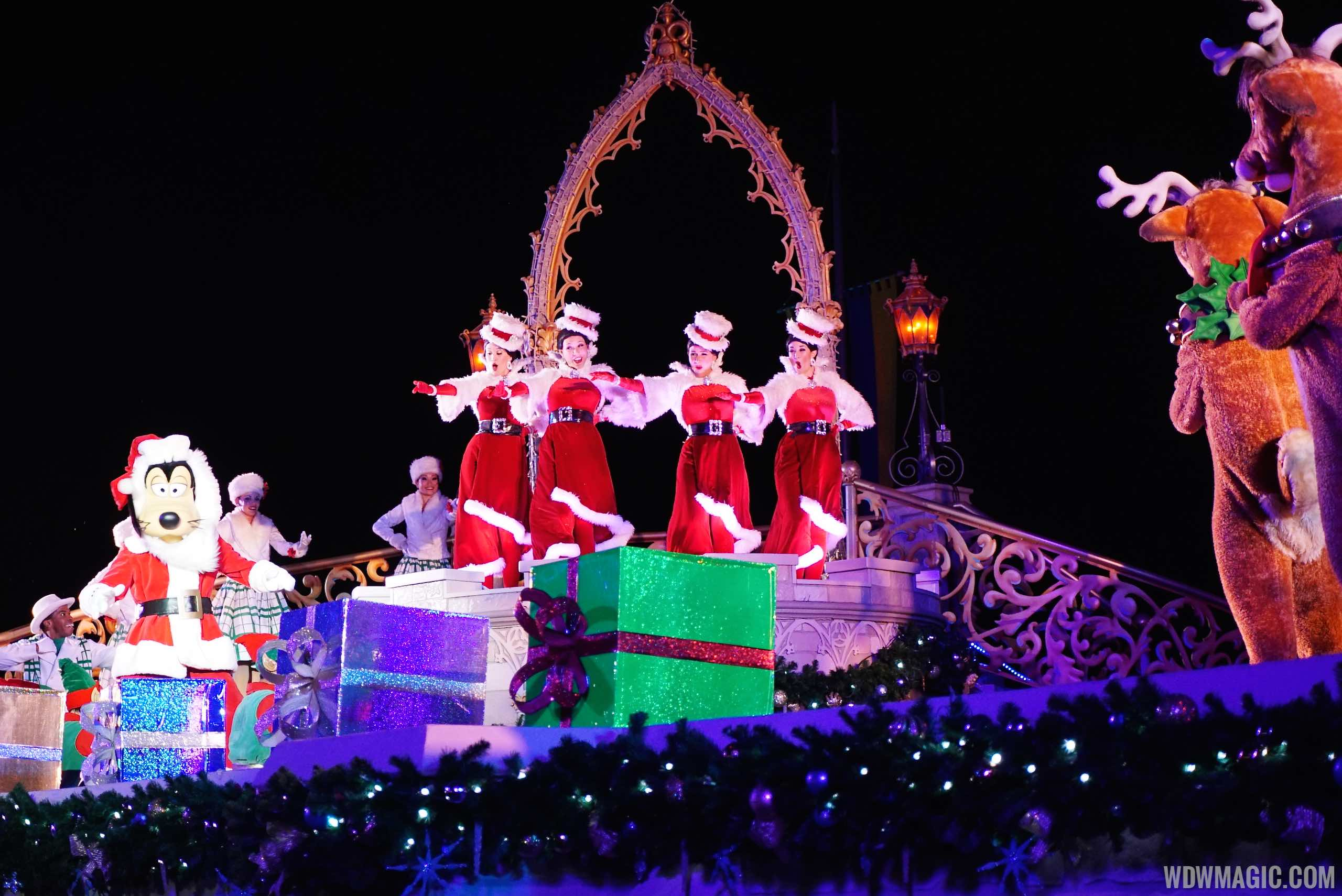 Disney Parks Christmas Day Parade taping dates set for early December
