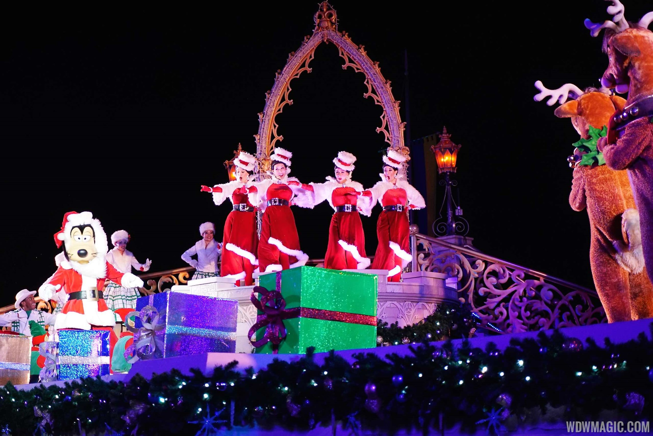 Holidays at the Magic Kingdom overview