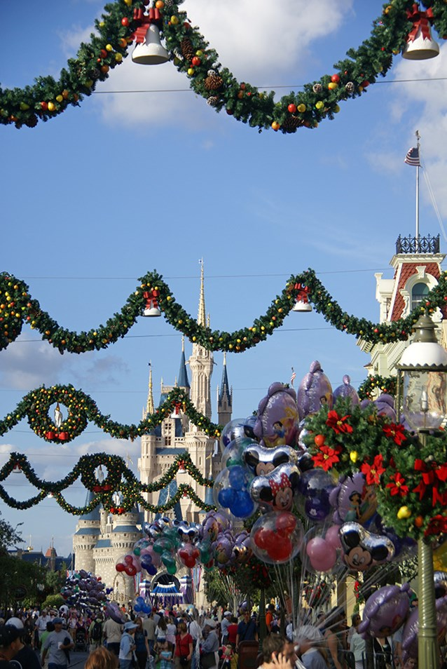Holidays at the Magic Kingdom