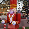 Holidays at the Magic Kingdom - Town Square decorations