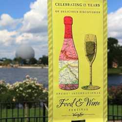 2010 International Food and Wine Festival menus, kiosks and decor