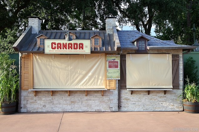 Epcot International Food and Wine Festival - 2012 International Food and Wine Festival kiosks - Canada