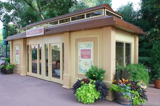 Epcot International Food and Wine Festival - 2012 International Food and Wine Festival kiosks - Festival Shop