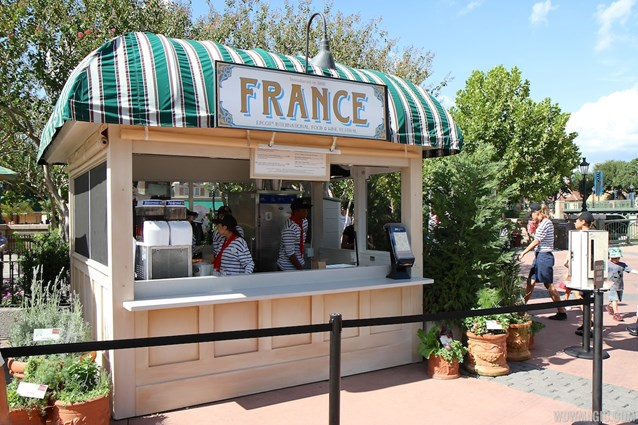 Epcot International Food and Wine Festival - 2012 Food and Wine Festival - France kiosk