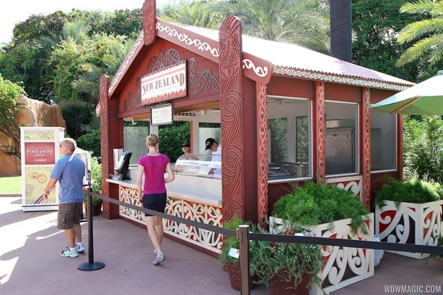 Epcot International Food and Wine Festival - 2012 Food and Wine Festival - New Zealand kiosk