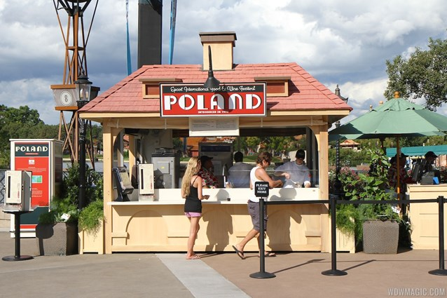 Epcot International Food and Wine Festival - 2012 Food and Wine Festival - Poland kiosk