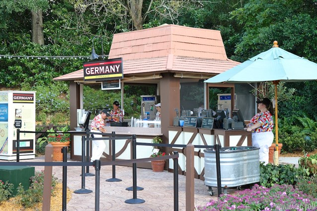International Food and Wine Festival - 2012 Food and Wine Festival - Germany kiosk