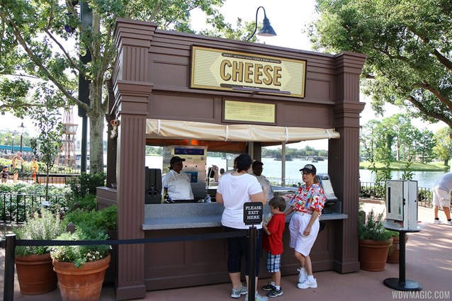 Epcot International Food and Wine Festival - 2012 Food and Wine Festival - Cheese kiosk