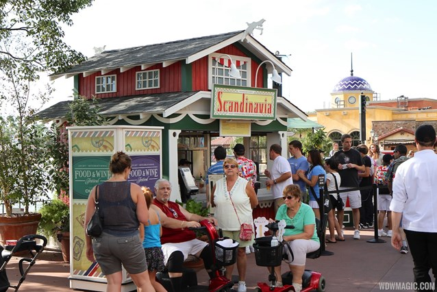 Epcot International Food and Wine Festival - 2012 Food and Wine Festival - Scandinavia kiosk