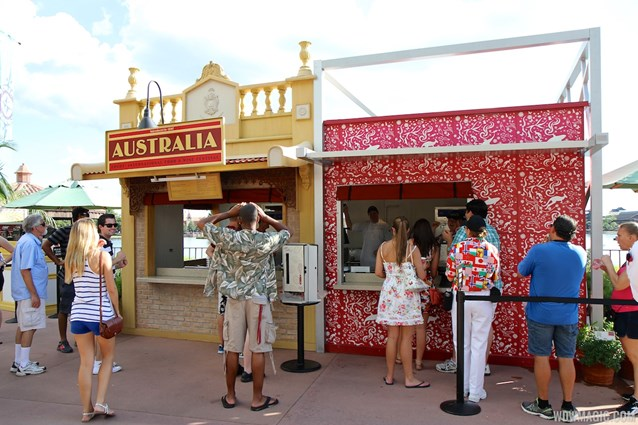 Epcot International Food and Wine Festival - 2012 Food and Wine Festival - Australia kiosk