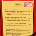 International Food and Wine Festival - 2012 Food and Wine Festival - Australia kiosk menu and prices
