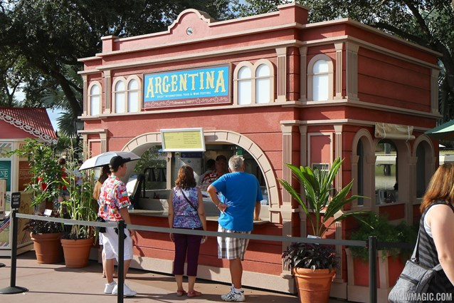 Epcot International Food and Wine Festival - 2012 Food and Wine Festival - Argentina kiosk