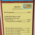 Epcot International Food and Wine Festival - 2012 Food and Wine Festival - Argentina kiosk menu and prices