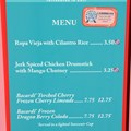 Epcot International Food and Wine Festival - 2012 Food and Wine Festival - Caribbean kiosk menu and prices