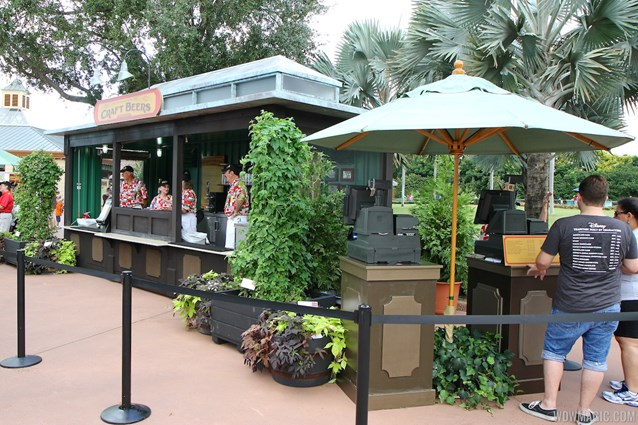 Epcot International Food and Wine Festival - 2012 Food and Wine Festival - Craft Beers kiosk