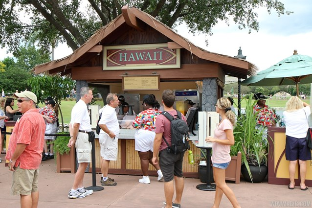 Epcot International Food and Wine Festival - 2012 Food and Wine Festival - Hawai'i kiosk