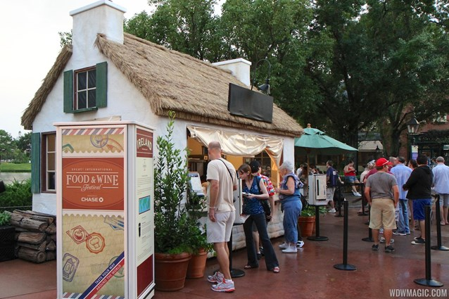 Epcot International Food and Wine Festival - 2012 Food and Wine Festival - Ireland kiosk