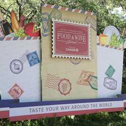2012 Food and Wine Festival decor