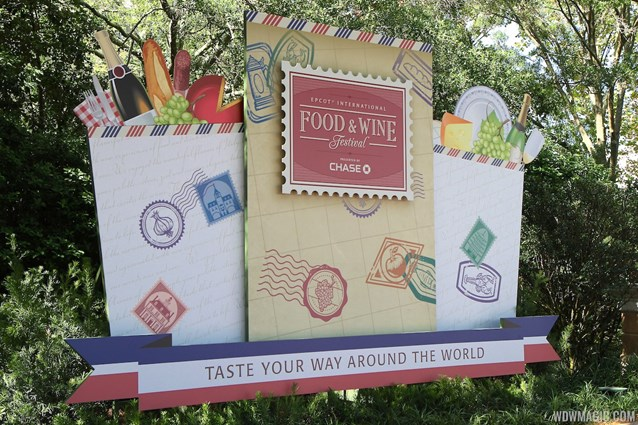 Epcot International Food and Wine Festival - 2012 Food and Wine Festival - International Gateway decor