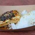 "Epcot International Food and Wine Festival - Singapore - Seared Mahi Mahi with Jasmine Rice and ""Singa"" Sauce"