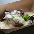 "International Food and Wine Festival - Canada - ""Le Cellier"" Wild Mushroom Beef Filet Mignon with Truffle Butter Sauce"