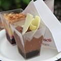 International Food and Wine Festival - Desserts and Champagne - Dark Chocolate Mousse with Chili and Salted Caramel