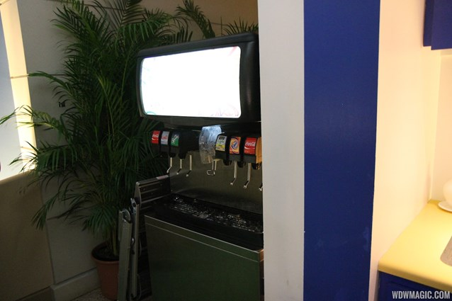Epcot International Food and Wine Festival - 2012 Food and Wine Festival - Chase cardholder lounge soda fountain