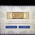 International Food and Wine Festival - Food and Wine Festival - Cheese self service kiosk
