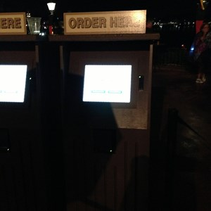 3 of 3: Epcot International Food and Wine Festival - Food and Wine Festival - Cheese self service kiosk