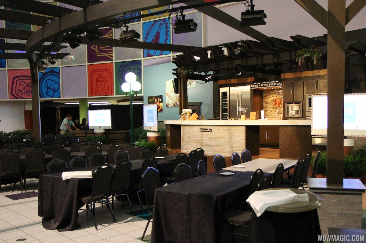 2012 Food and Wine Festival Festival Center