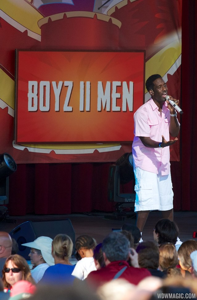 Epcot International Food and Wine Festival - 2012 Food and Wine Festival Eat to the Beat - Boyz II Men