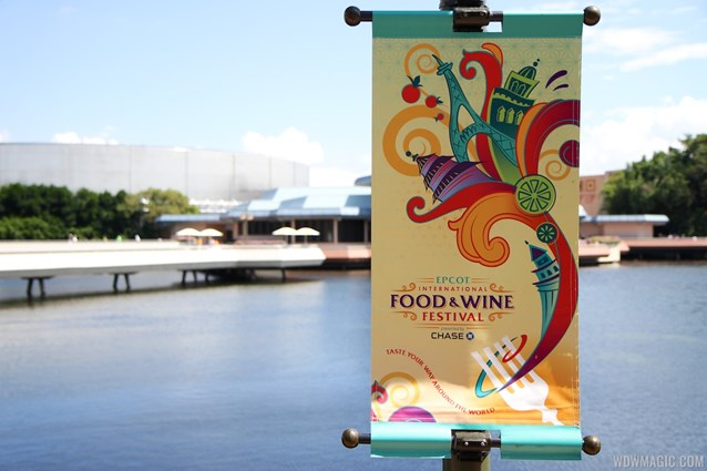 Epcot International Food and Wine Festival - 2013 Epcot International Food and Wine Festival - Signage