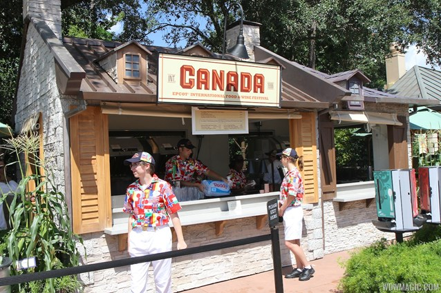 Epcot International Food and Wine Festival - 2013 Epcot International Food and Wine Festival marketplace - Canada kiosk