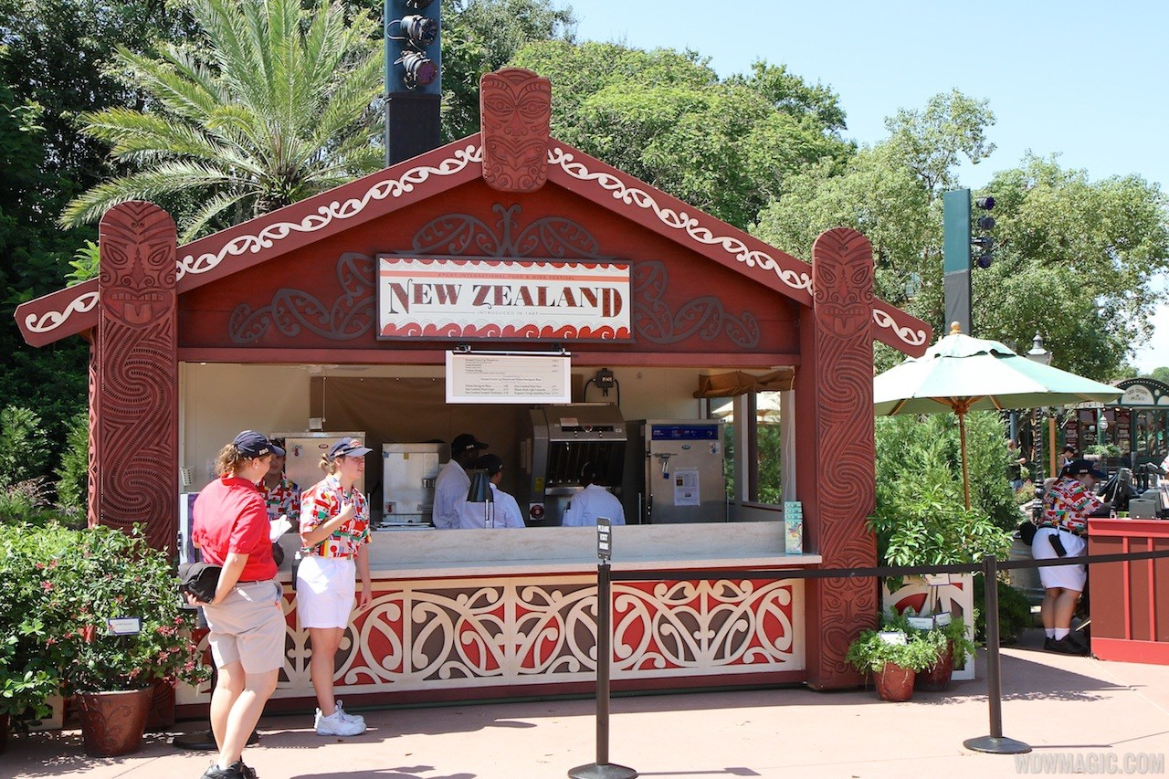 2013 Food and Wine Festival marketplace kiosks, menus and pricing