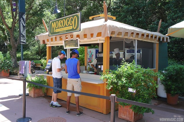 Epcot International Food and Wine Festival - 2013 Epcot International Food and Wine Festival marketplace - Morocco Kiosk